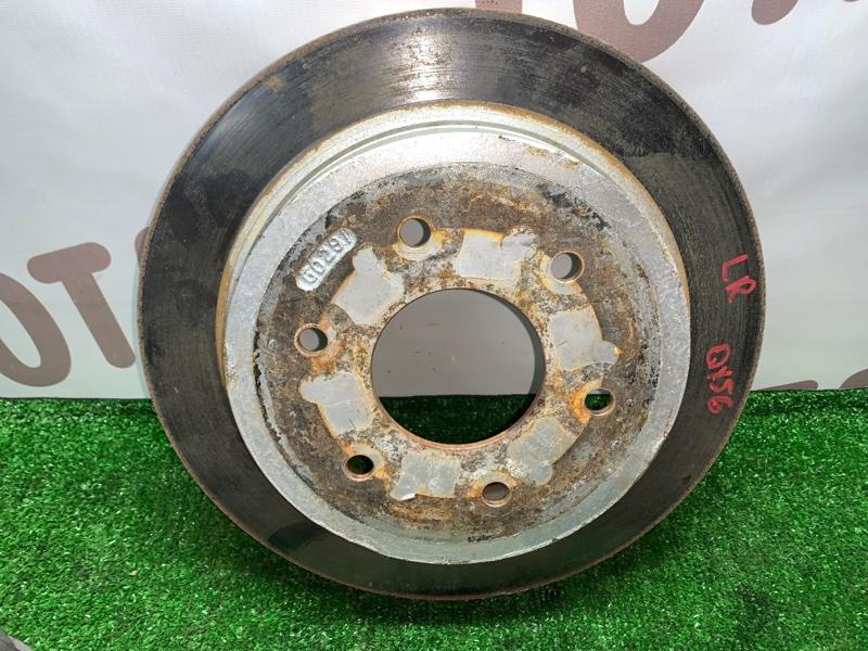 Тормозной диск Infiniti Qx56 JA60 VK56DE 2005 задний левый (б/у)