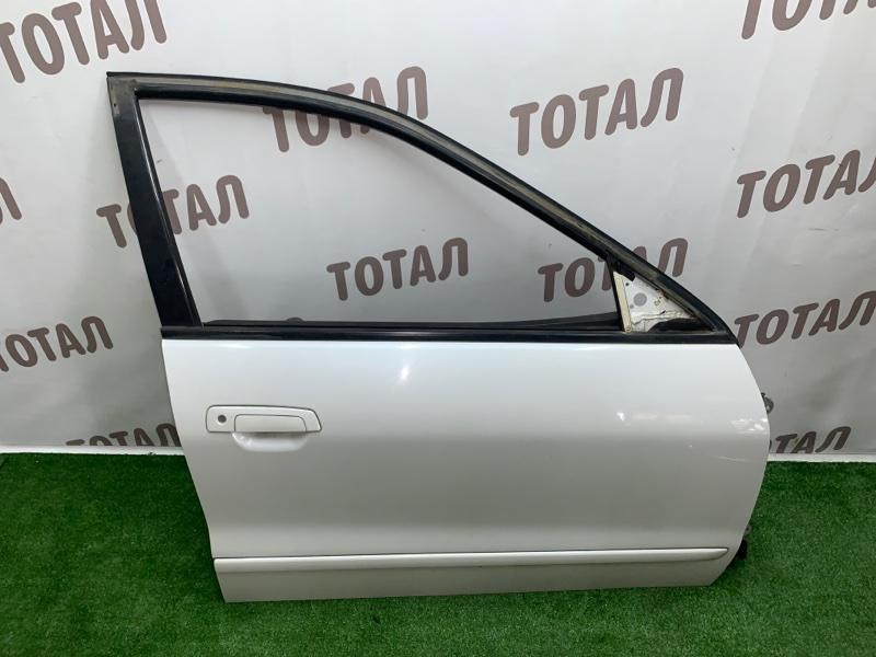 Дверь Mitsubishi Legnum EA1W 4G64 2000 передняя правая (б/у)