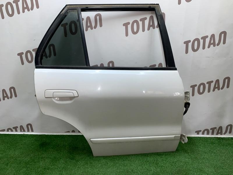 Дверь Mitsubishi Legnum EA1W 4G64 2000 задняя правая (б/у)