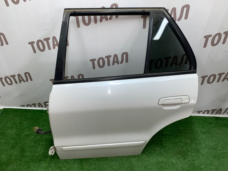 Дверь Mitsubishi Legnum EA1W 4G64 2000 задняя левая (б/у)