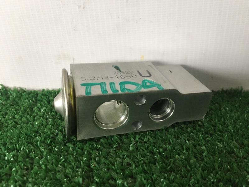 Клапан радиатора кондиционера Nissan Tiida Latio SNC11 HR15DE 2007 (б/у)