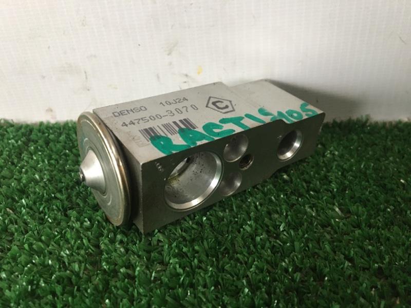 Клапан радиатора кондиционера Toyota Ractis NCP105 1NZFE 2007 (б/у)
