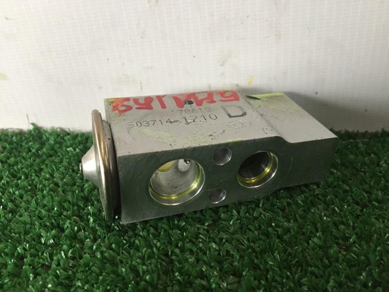 Клапан радиатора кондиционера Nissan Bluebird Sylphy KG11 MR20DE (б/у)