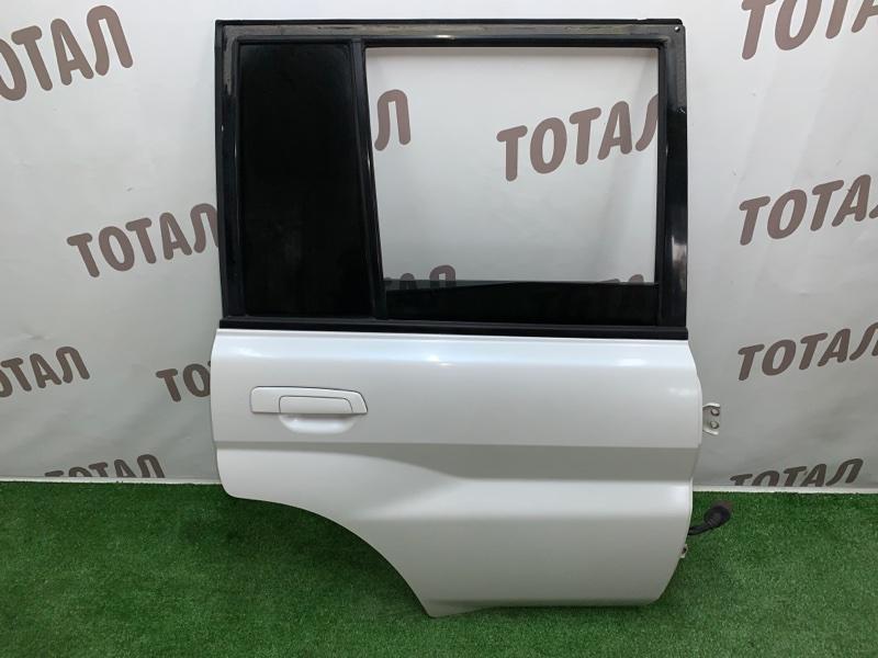 Дверь Mitsubishi Pajero Io H76W 4G93 1999 задняя правая (б/у)