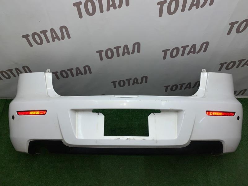 Бампер Mazda Axela BK3P L3VDT 2006 задний (б/у)