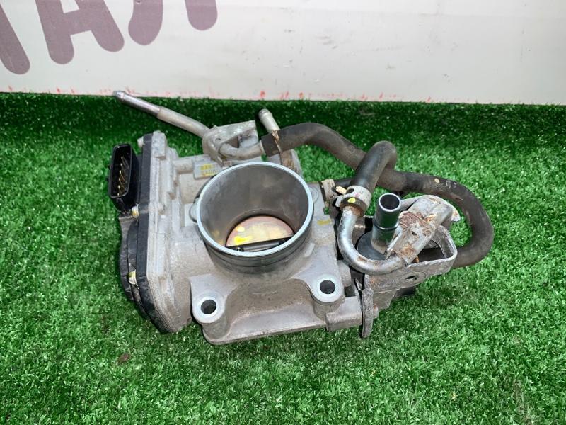 Блок дроссельной заслонки Honda Fit GE6 L13A 2008 (б/у)