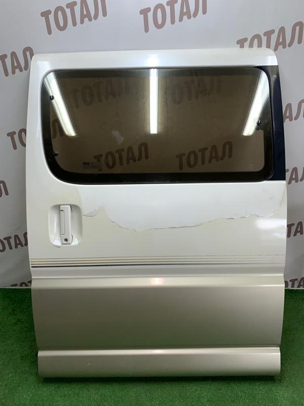 Дверь Toyota Grand Hiace VCH16 5VZFE 2000 задняя левая (б/у)