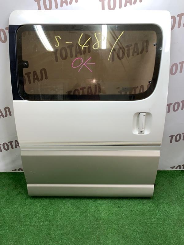 Дверь Toyota Grand Hiace VCH16 5VZFE 2000 задняя правая (б/у)