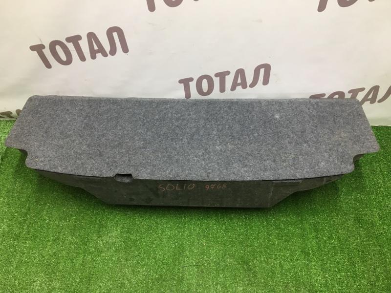 Обшивка багажника Suzuki Solio MA15S K12B (б/у)