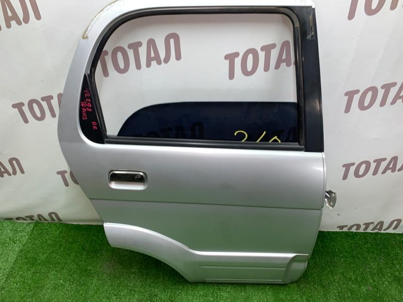 Дверь Daihatsu Terios J100G HC-EJ 1997 задняя правая (б/у)