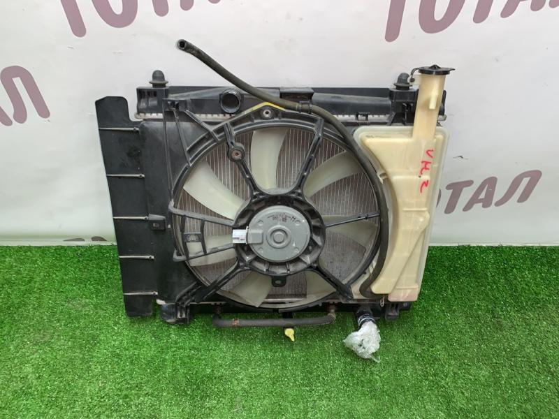 Радиатор двс Toyota Vitz NCP95 2NZFE 2006 (б/у)