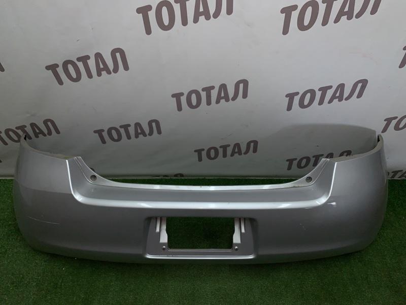 Бампер Toyota Vitz NCP95 2NZFE 2006 задний (б/у)