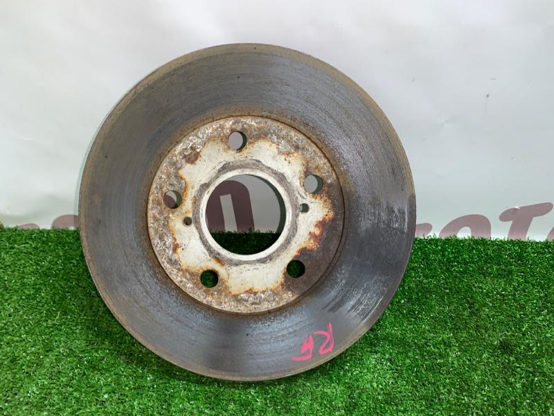 Тормозной диск Toyota Gaia SXM15 3SFE 2002 передний правый (б/у)