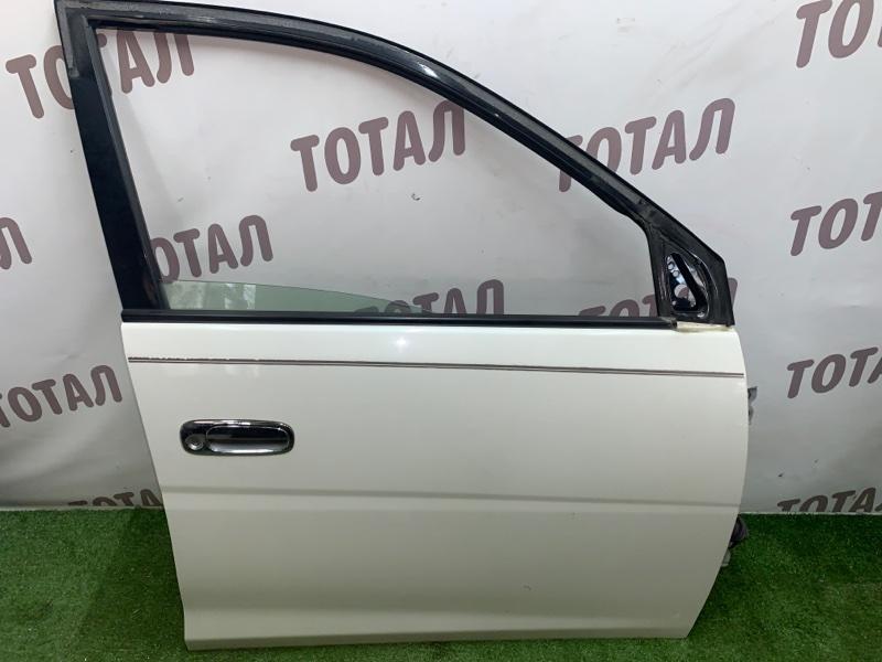 Дверь Toyota Gaia SXM15 3SFE 2002 передняя правая (б/у)