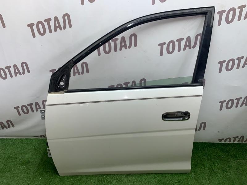 Дверь Toyota Gaia SXM15 3SFE 2002 передняя левая (б/у)