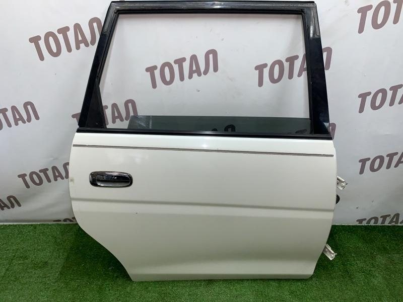 Дверь Toyota Gaia SXM15 3SFE 2002 задняя правая (б/у)
