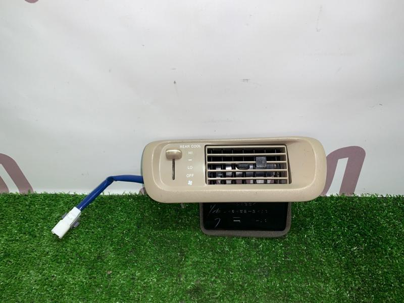 Блок управления климат-контролем Toyota Gaia SXM15 3SFE 2002 задний (б/у)