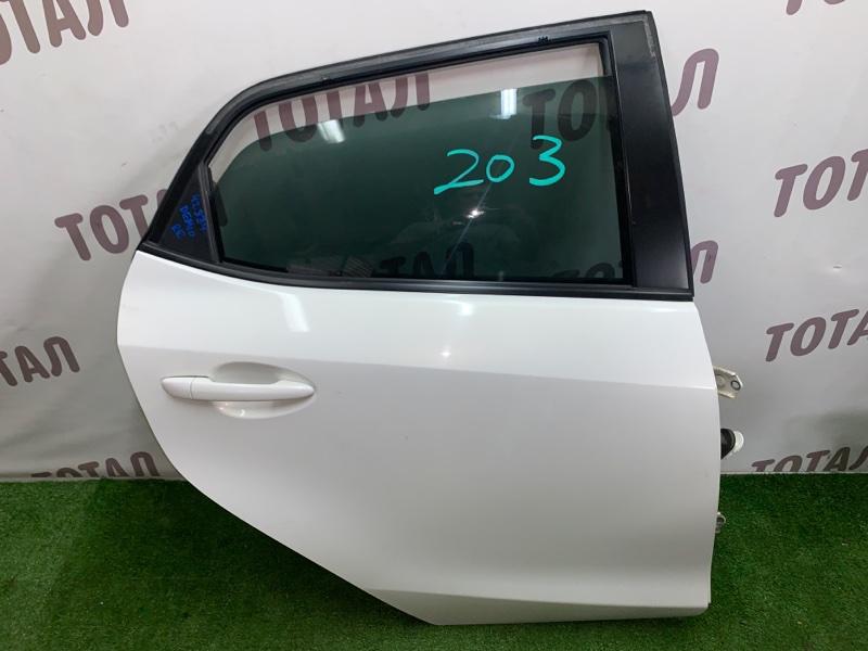 Дверь Mazda Demio DE3AS ZJVE 2008 задняя правая (б/у)