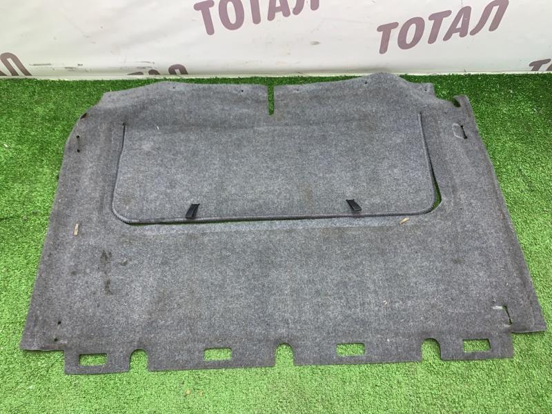 Обшивка багажника Mazda Proceed Levante TJ32W RF 1998 нижняя (б/у)