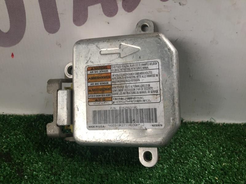 Блок управления airbag Isuzu Vehicross UGS25 6VD1 (б/у)