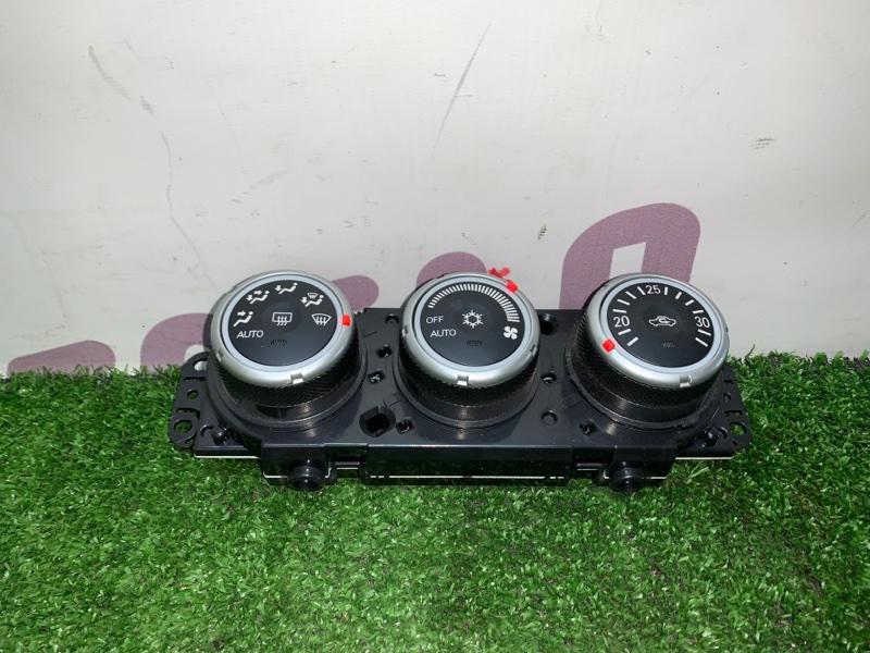 Блок управления климат-контролем Mitsubishi Outlander CW6W 6B31 2008 (б/у)