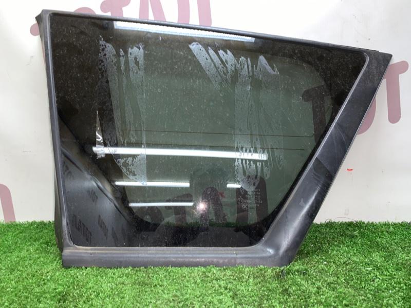 Стекло собачника Mitsubishi Outlander CW6W 6B31 2008 заднее левое (б/у)