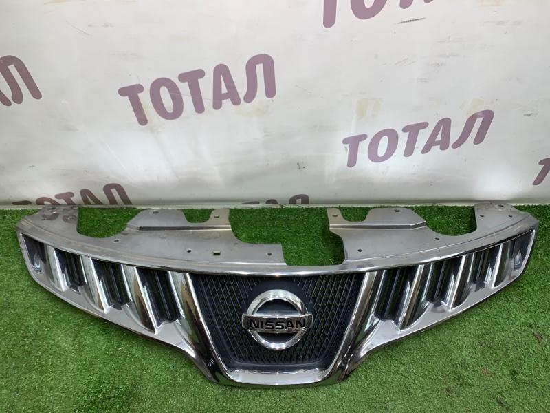 Решетка радиатора Nissan Murano PNZ51 VQ35DE 2009 (б/у)