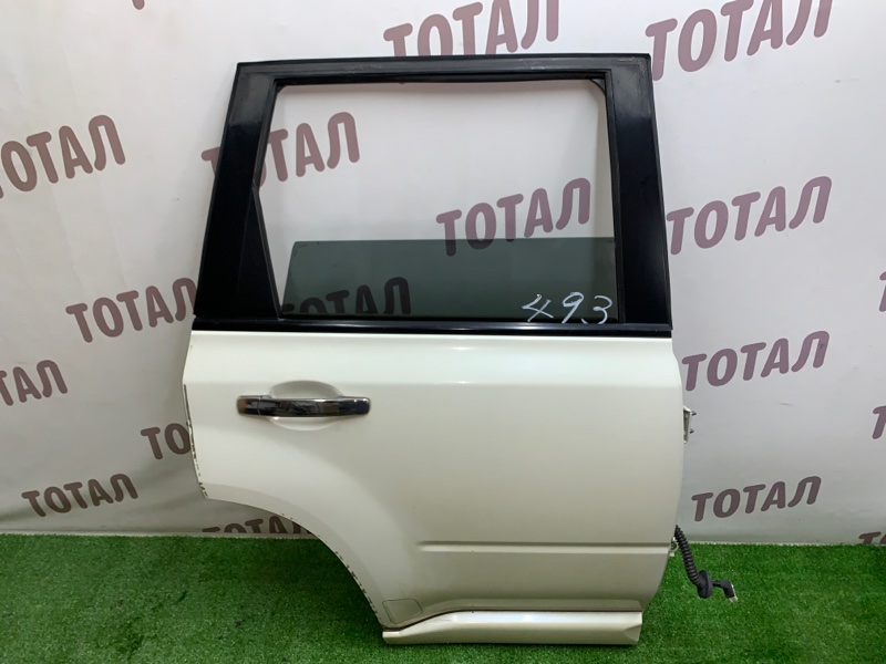 Дверь Nissan X-Trail TNT31 QR25DE 2008 задняя правая (б/у)