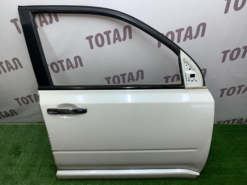 Дверь Nissan X-Trail TNT31 QR25DE 2008 передняя правая (б/у)
