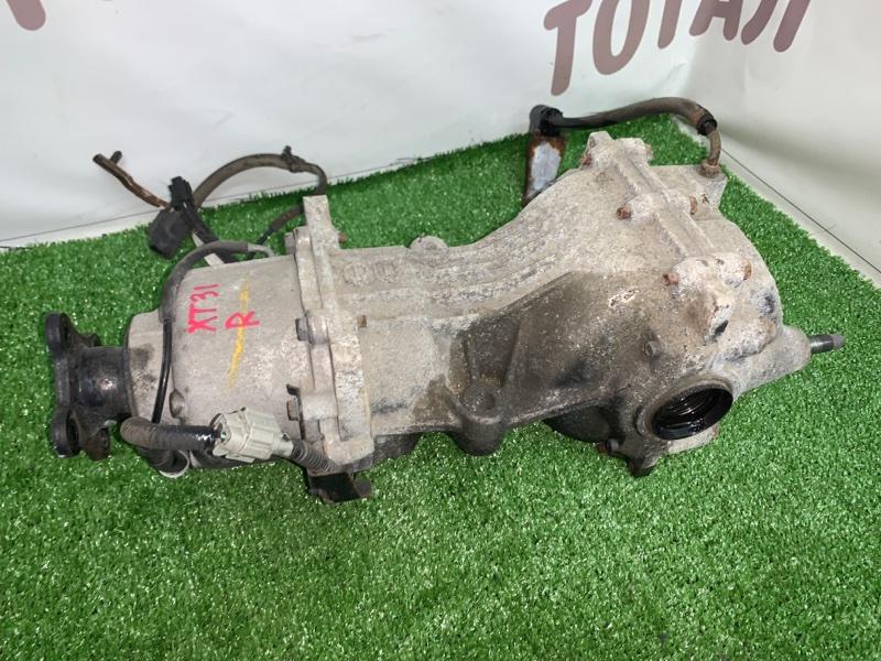 Редуктор Nissan X-Trail TNT31 QR25DE 2008 задний (б/у)