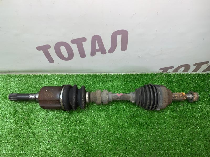 Привод Nissan X-Trail TNT31 QR25DE 2008 передний левый (б/у)