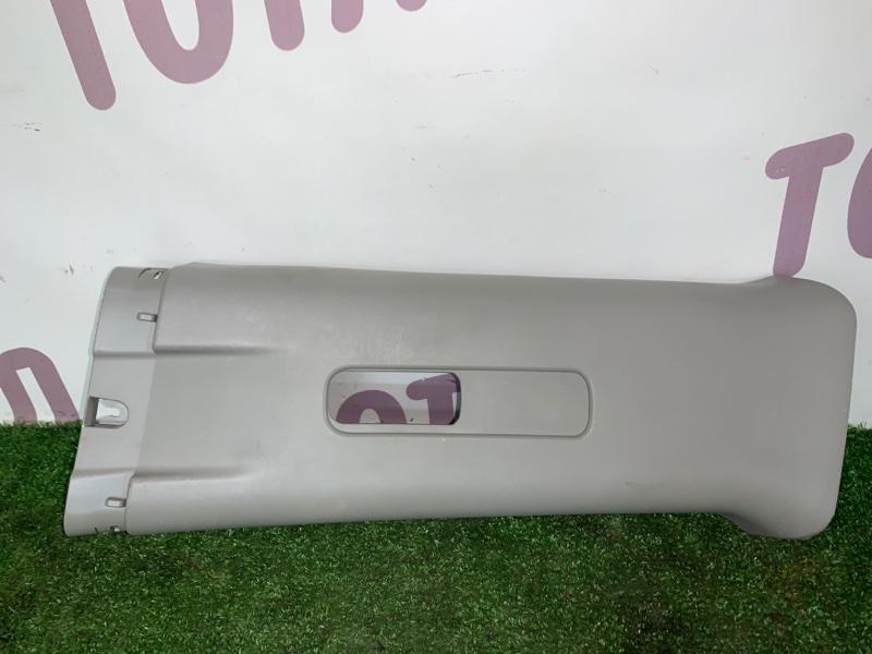 Накладка на стойку кузова Nissan X-Trail TNT31 QR25DE 2008 задняя левая (б/у)