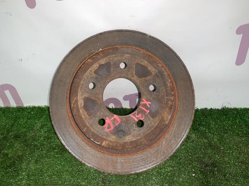 Тормозной диск Nissan X-Trail TNT31 QR25DE 2008 задний правый (б/у)