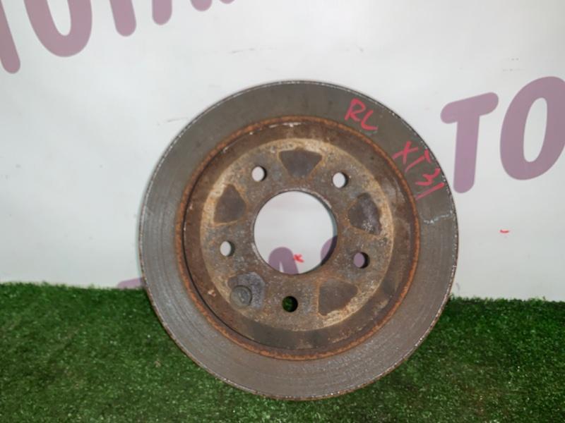 Тормозной диск Nissan X-Trail TNT31 QR25DE 2008 задний левый (б/у)