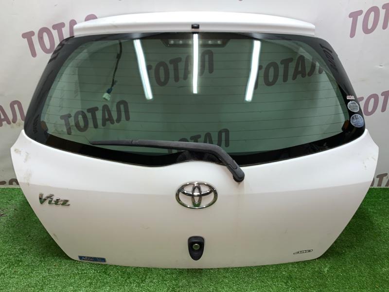 Дверь 5-я Toyota Vitz NCP95 2NZFE 2006 (б/у)