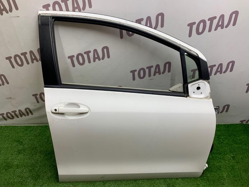 Дверь Toyota Vitz NCP95 2NZFE 2006 передняя правая (б/у)