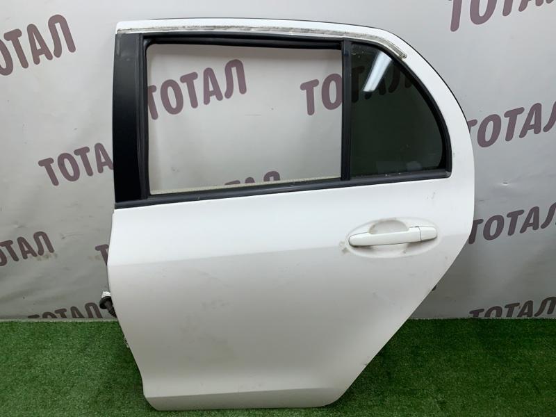 Дверь Toyota Vitz NCP95 2NZFE 2006 задняя левая (б/у)