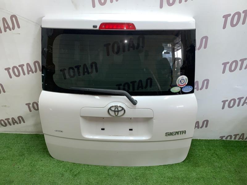 Дверь 5-я Toyota Sienta NCP85 1NZFE 2004 (б/у)
