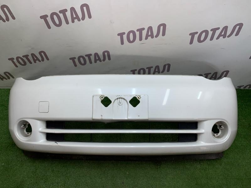 Бампер Toyota Sienta NCP85 1NZFE 2004 передний (б/у)