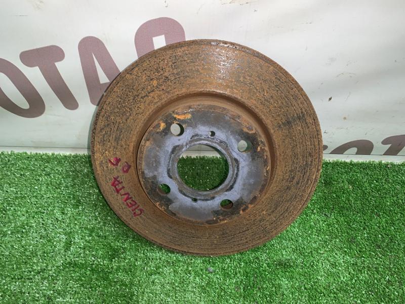 Тормозной диск Toyota Sienta NCP85 1NZFE 2004 передний правый (б/у)