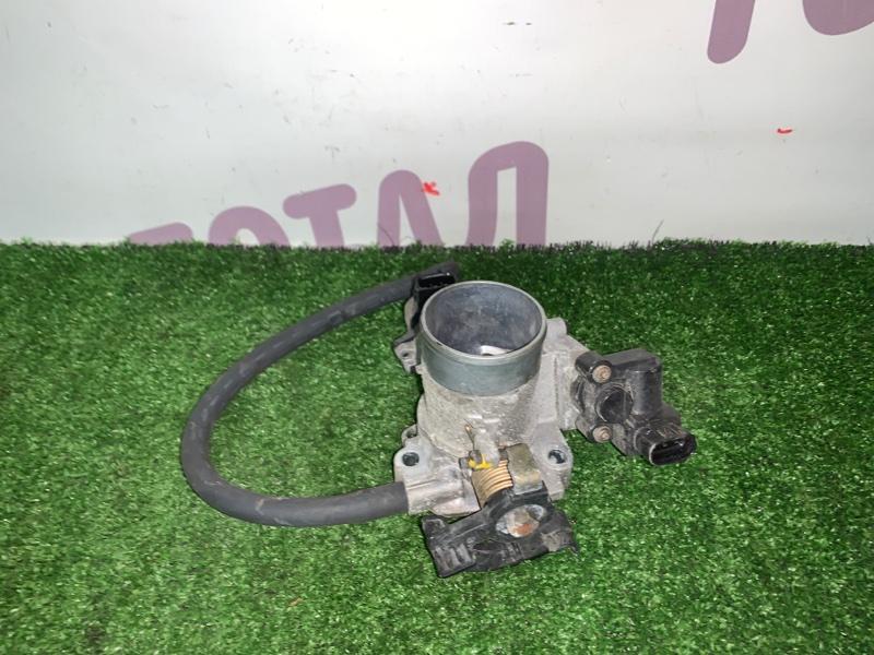 Блок дроссельной заслонки Toyota Sienta NCP85 1NZFE 2004 (б/у)