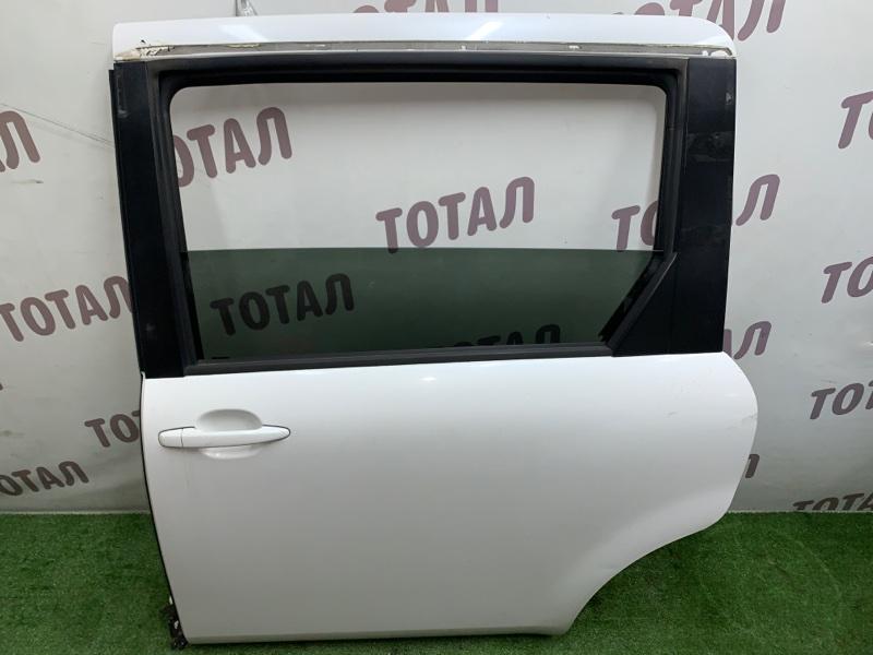 Дверь Toyota Sienta NCP85 1NZFE 2004 задняя левая (б/у)