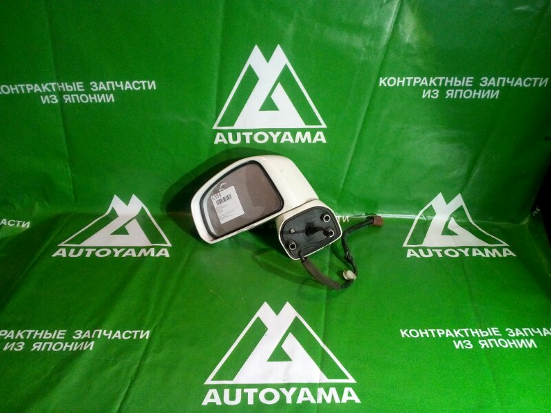 Зеркало Nissan Tiida Latio C11 левое (б/у)