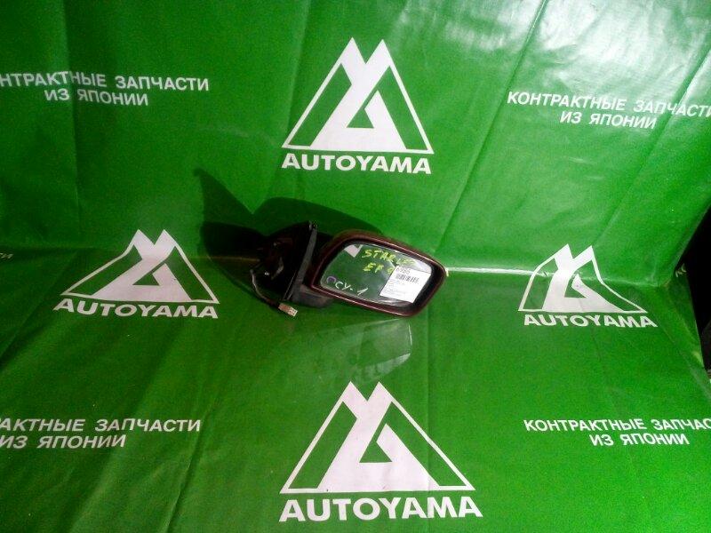 Зеркало Toyota Starlet EP91 правое (б/у)
