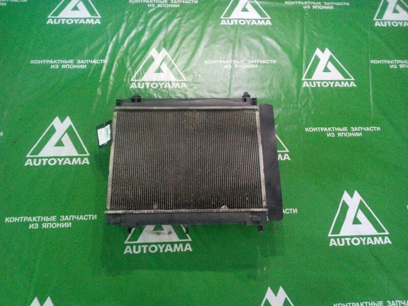 Радиатор двс Toyota Ractis NCP100 1NZFE (б/у)