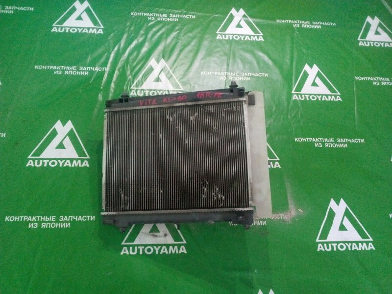Радиатор двс Toyota Vitz KSP90 1KRFE (б/у)