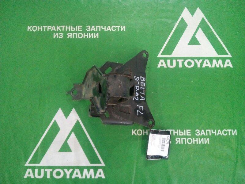 Подушка двигателя Toyota Belta SCP92 2SZFE левая (б/у)