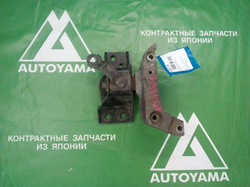 Подушка двигателя Nissan Tiida Latio C11 HR15 правая (б/у)