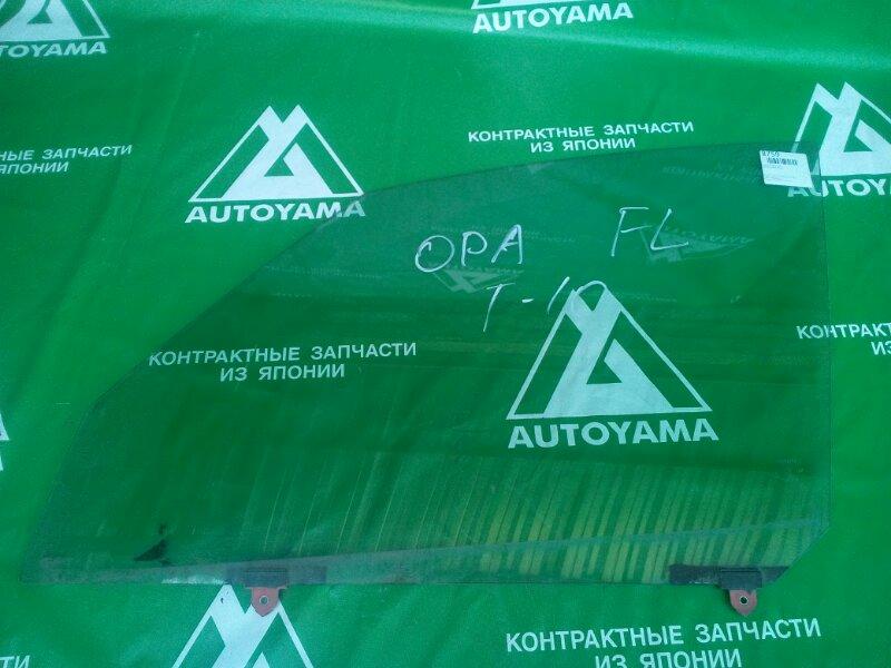 Стекло Toyota Opa ZCT10 переднее левое (б/у)