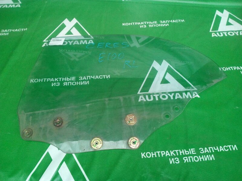 Стекло Toyota Sprinter Marino AE101 заднее левое (б/у)